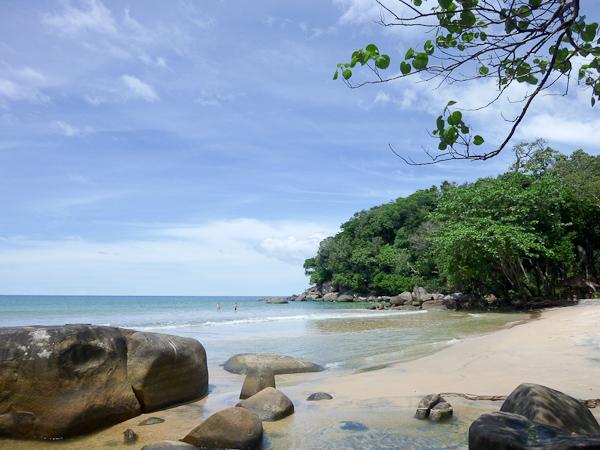 Small Sandy Beach